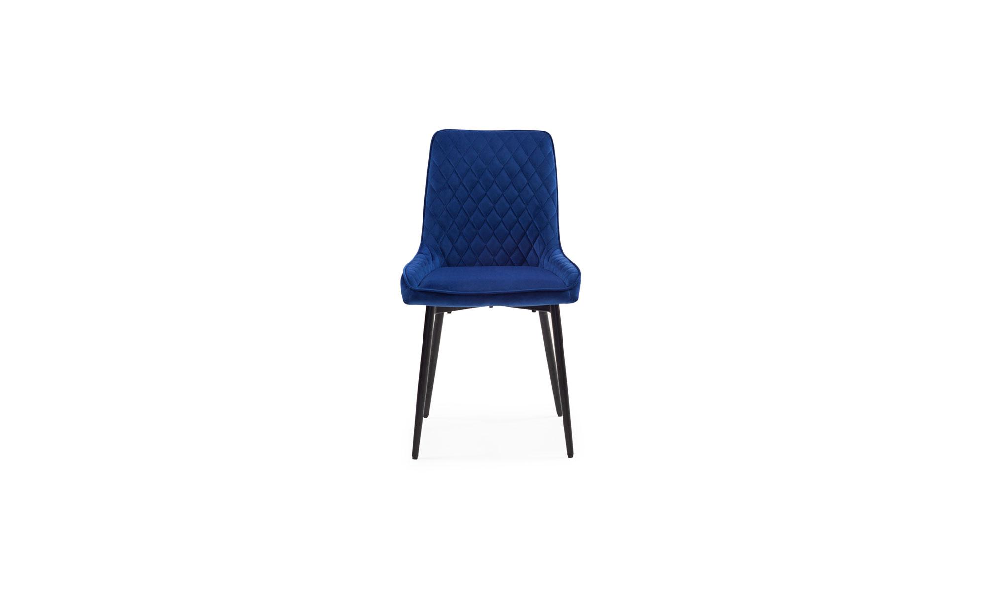 1 Silla Comedor Lenox 80256 Azul Medio